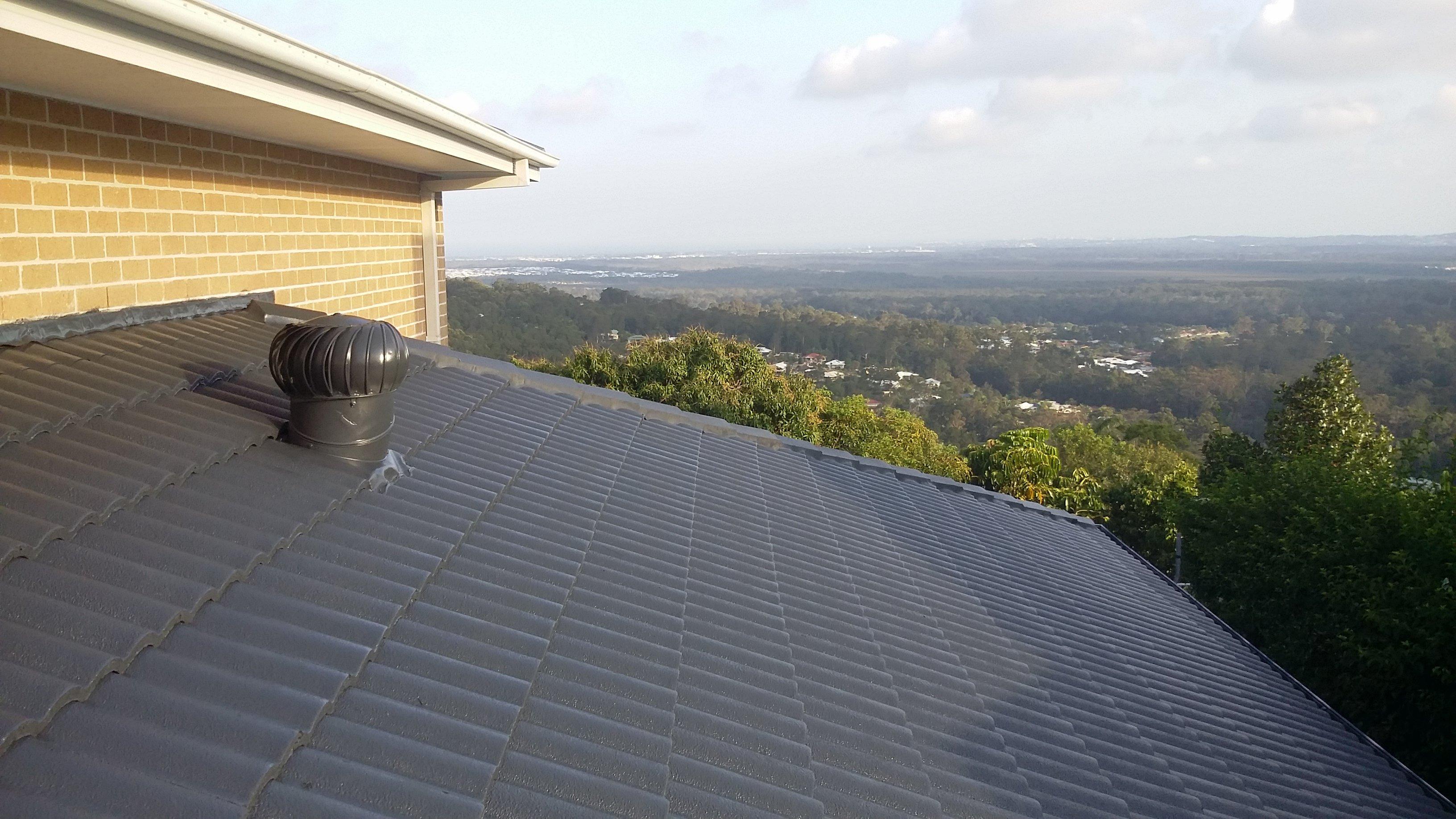 Roof Restoration Performed On The Sunshine Coast