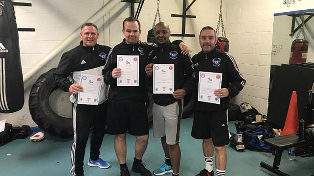 boxing certificates