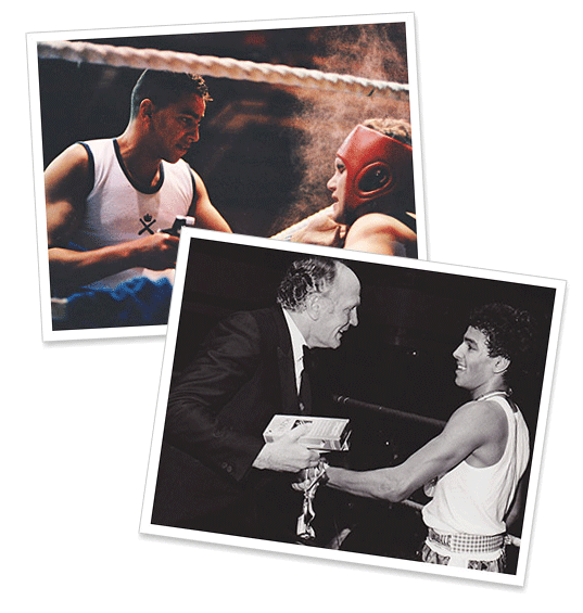 boxing career pictures