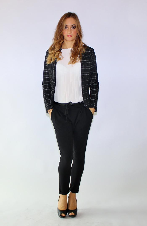 completo giacca e pantaloni sportiva donna