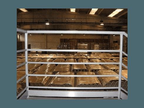 Moba realizza rulli in cartone anche per industrie del settore tessile.