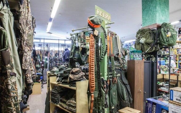 Abbigliamento per la caccia