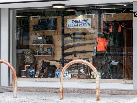 negozio caccia