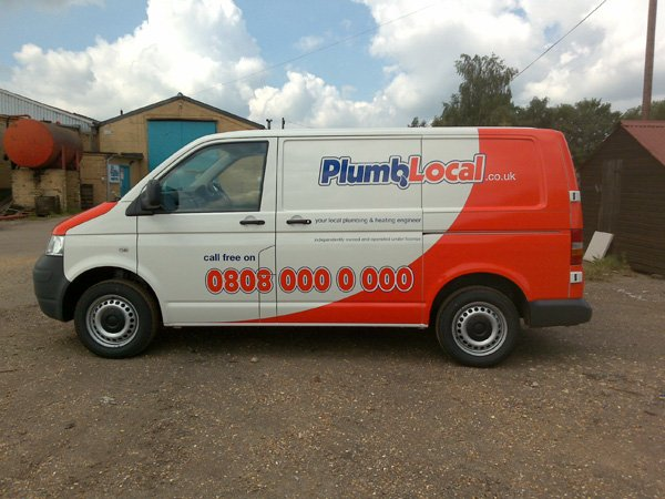 Plumb Local van