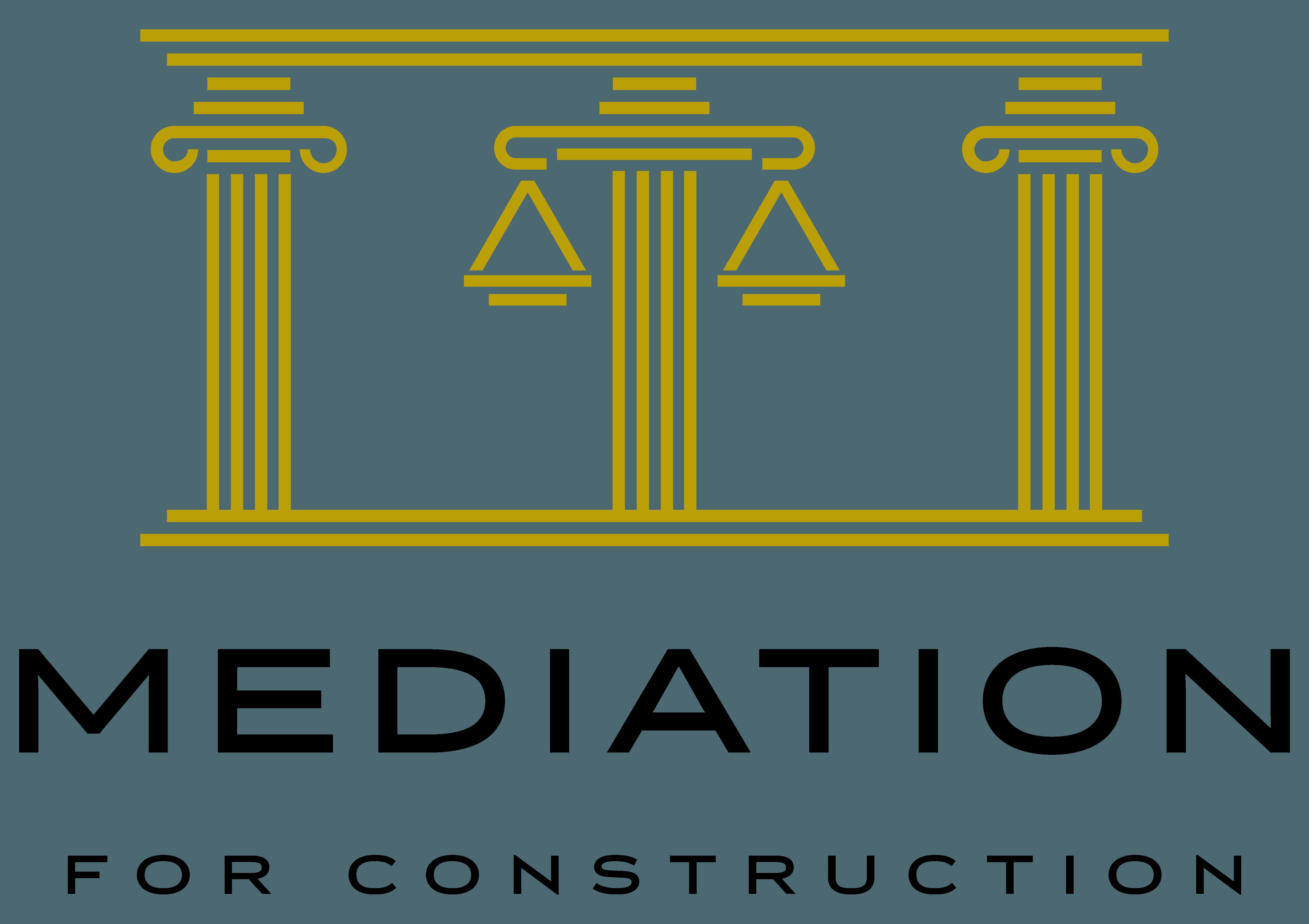MEDIATION FOR CONSTRUCTION logo