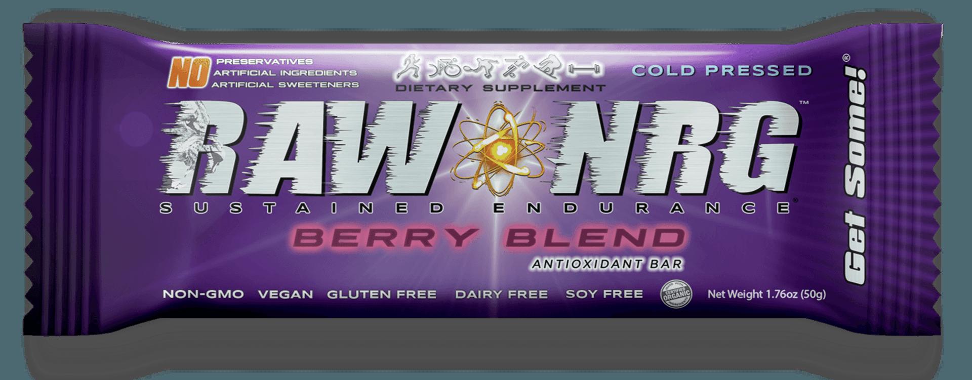 Berry Blend Bar _ Raw Nrg