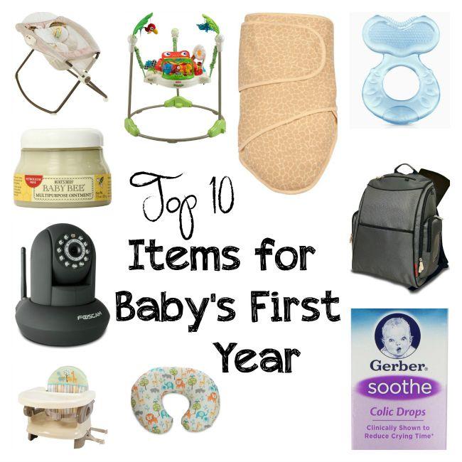 Baby Items list a-z