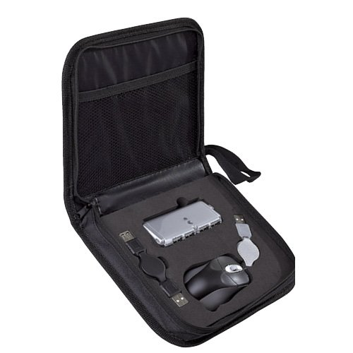 Kit de Cómputo Tecky Mouse retráctil y extensión USB