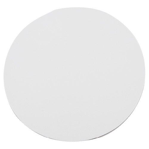 Mouse Pad Redondo Blanco