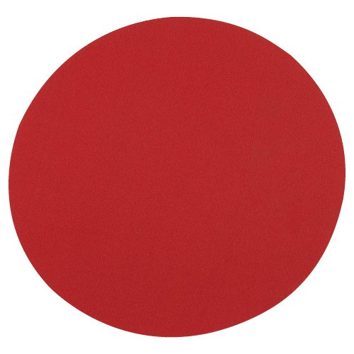 Mouse Pad Redondo Rojo