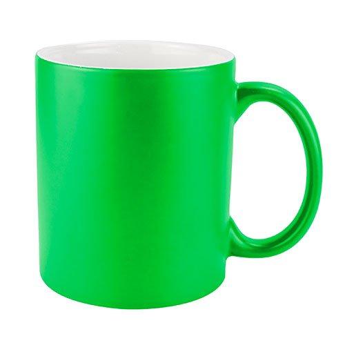Taza Kabbi Verde Neón