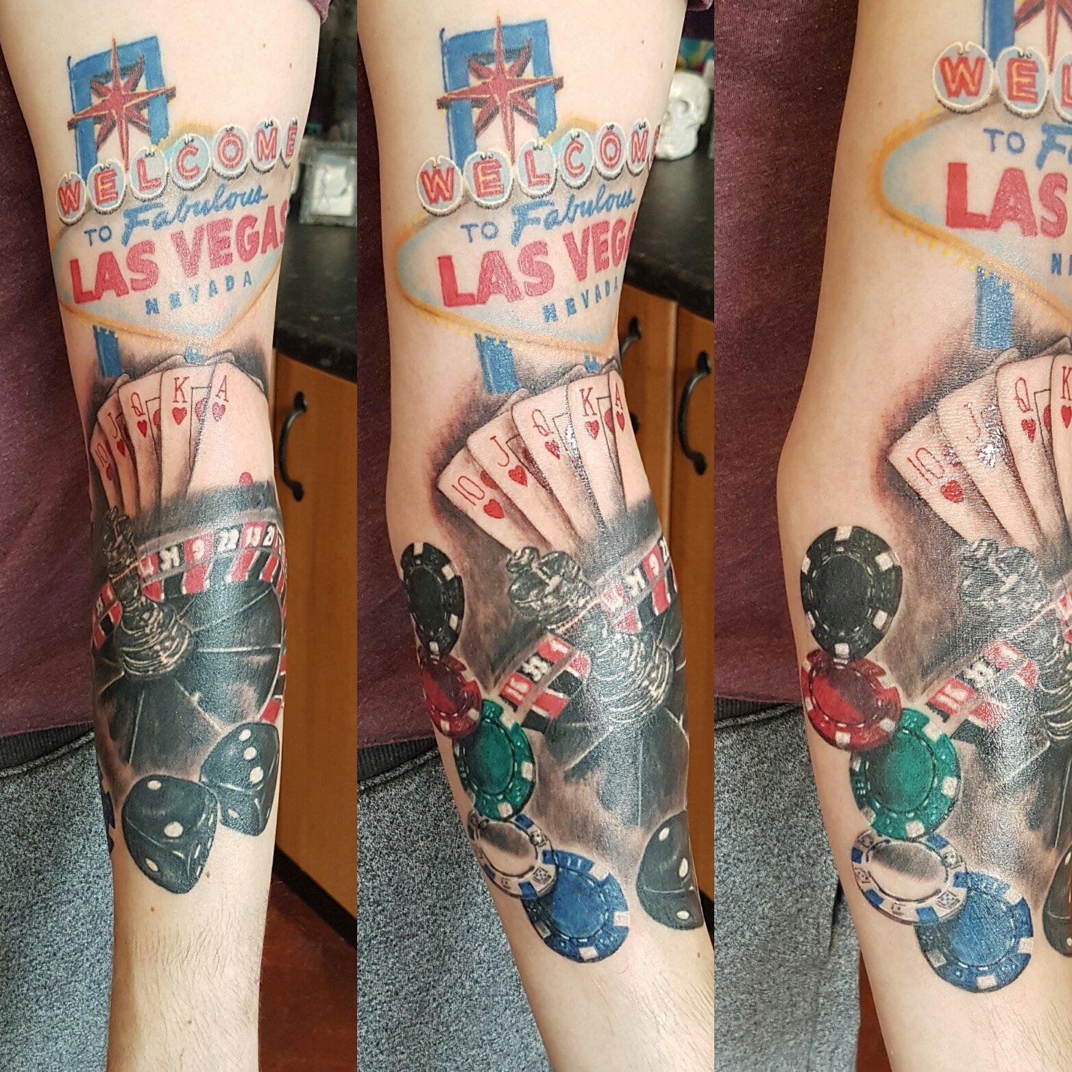 Tattoo of Las Vagas