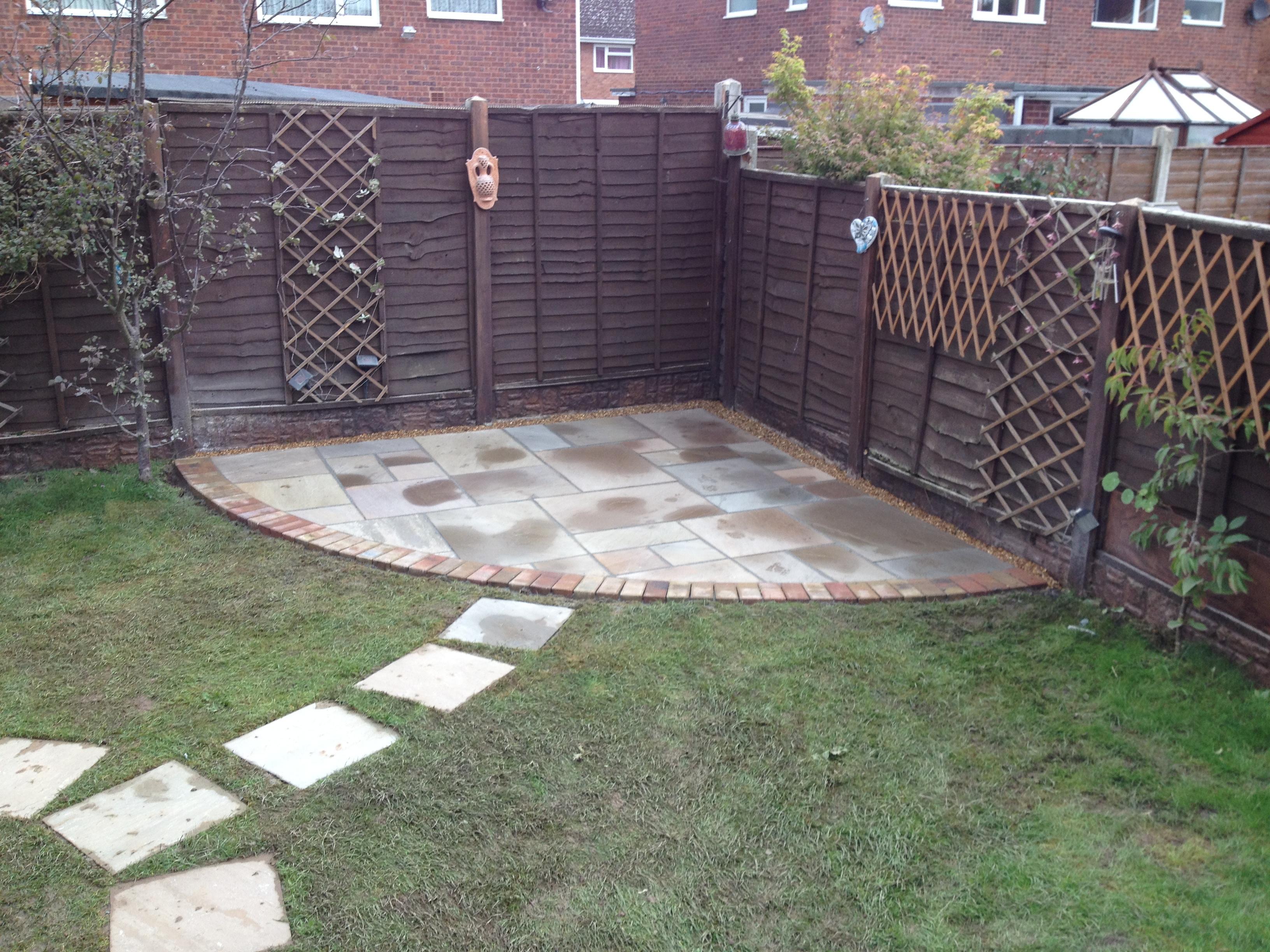 Garden refurbishments