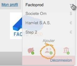 capture écran factomos ajouter utilisateur