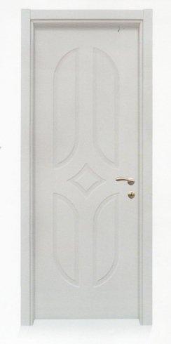porta in legno bianco