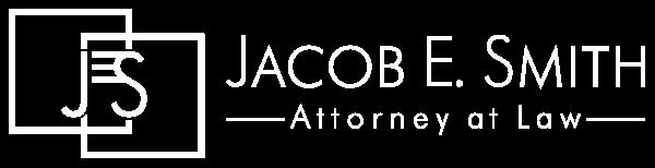 Jacob E. Smith, Attorney at Law | White Logo