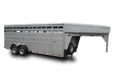 Titan Classic Gooseneck Livestock Trailer - Blue Valley Trailers, Kansas