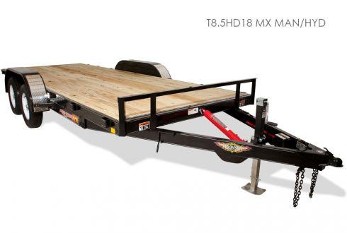 H&H MX Speedloader Car Hauler Tilt Trailer