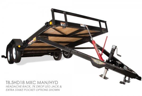 H&H MXC C-Series Car Hauler Tilt Trailer