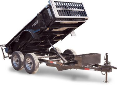 Titan Mini-Dump Trailer 10′
