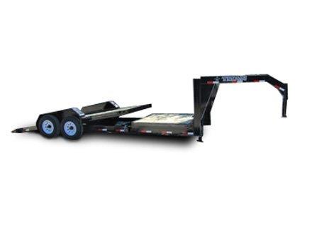 Titan Utility Tilt Deck Gooseneck Trailer