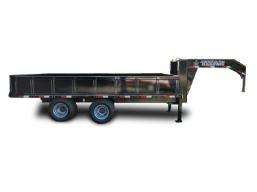 Titan Deck Over Dump Trailer