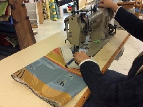 Lavorazione artigianale di ogni tipo di tessuto e per ogni creazione