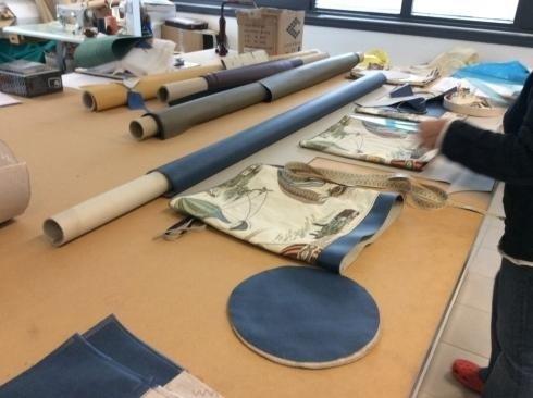 Lavorazioni artigianali tende tendaggi tessuti