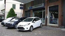 Fordi Fiesta bianca
