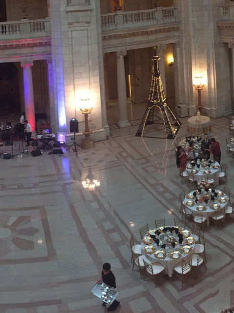 Banquet hall in Cleveland, OH