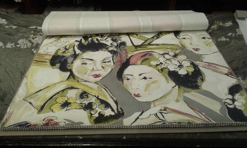 tessuti con disegni giapponesi
