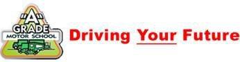 A Grade Motor School logo