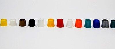 colores tapones tubos