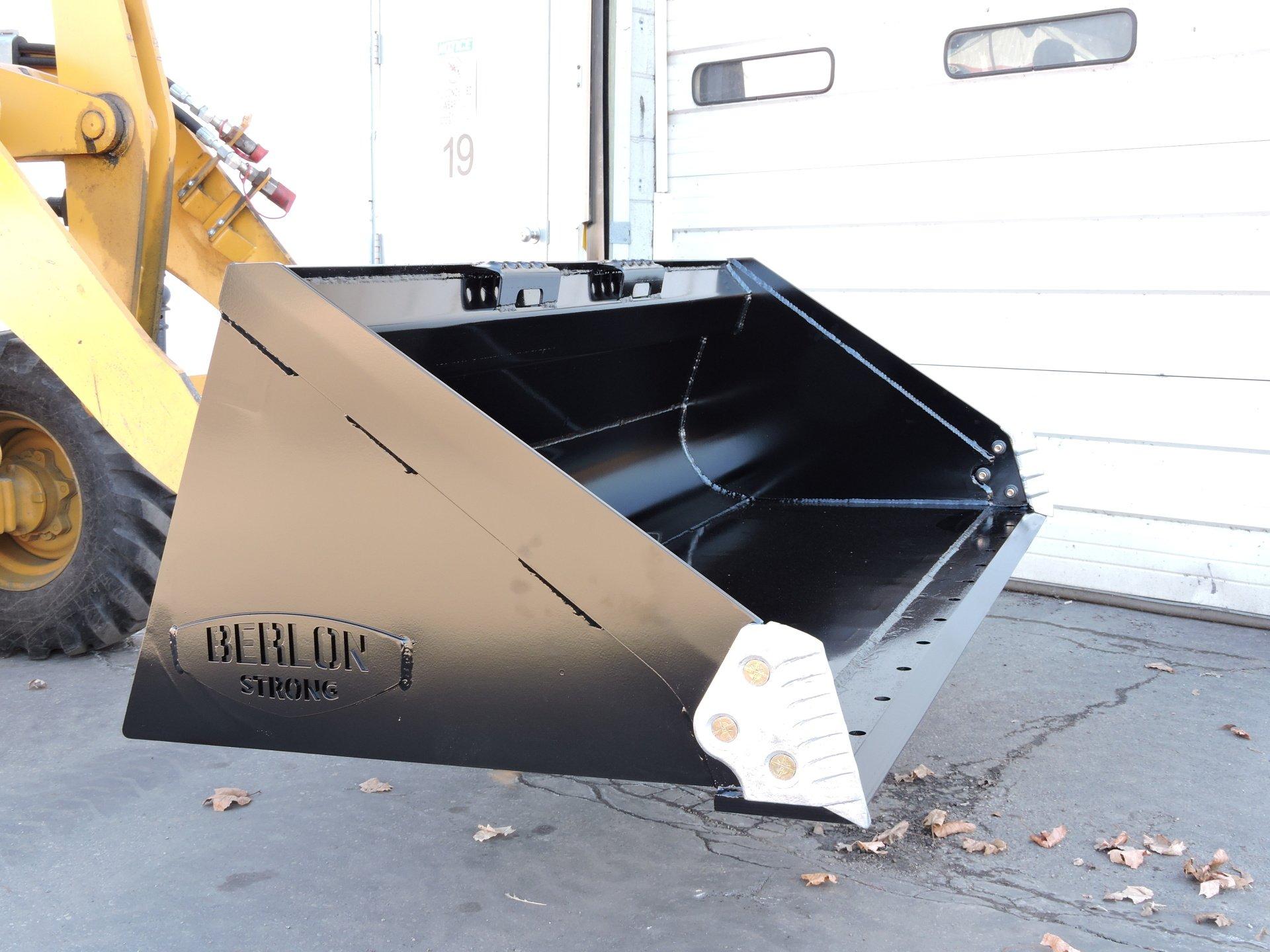 Heavy Duty Extended Lip Skid Steer Loader Bucket Berlon