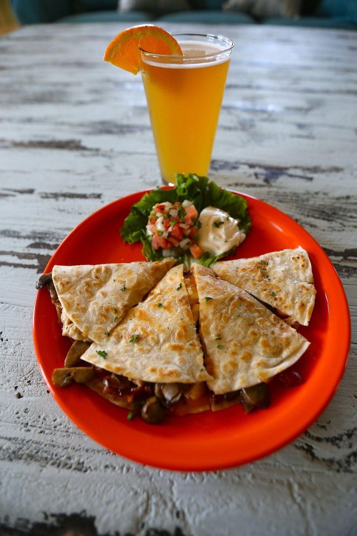 Quesadilla at Barefoot Island Grill