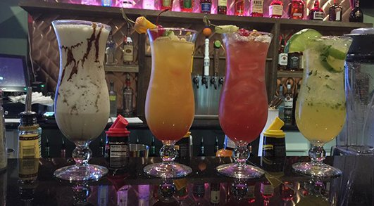 BIGoba signature drinks