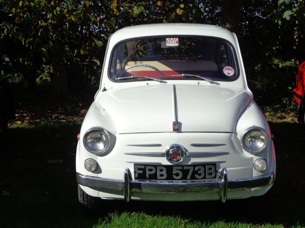 vintage cars on show