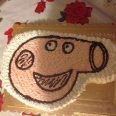 dolce peppa pig, torta peppa pig, torta con panna