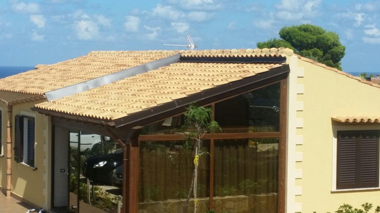 tetto realizzato da edilgrondaia