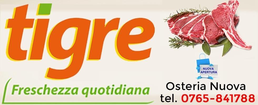 Supermercati Tigre, ipermercati Tigre, Tigre Osteria Nuova, Tigre Rieti