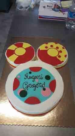 torta di compleanno Gregorio