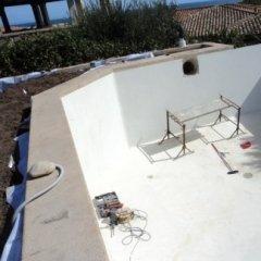 Ricostruzione piscina