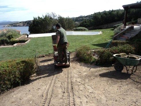 Realizzazione giardini Porto Rotondo