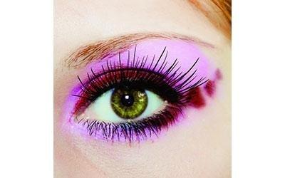 trucco occhio rosa