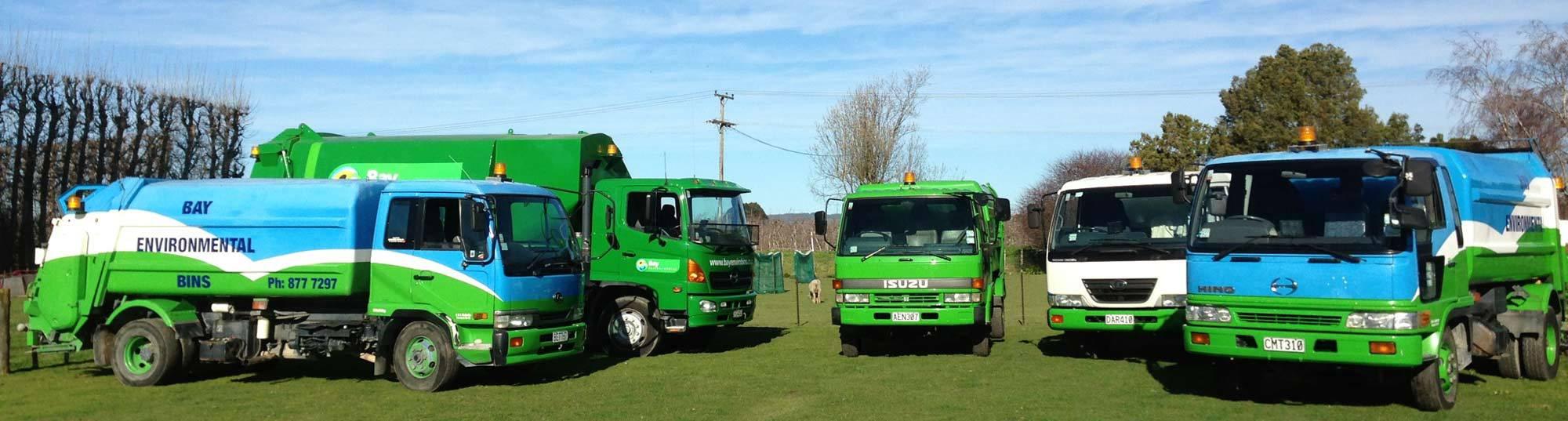 Trucks panorama