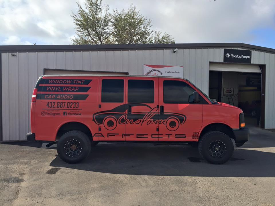 Vinyl Vehicle Wraps Midland, TX | Vehicle Accessories