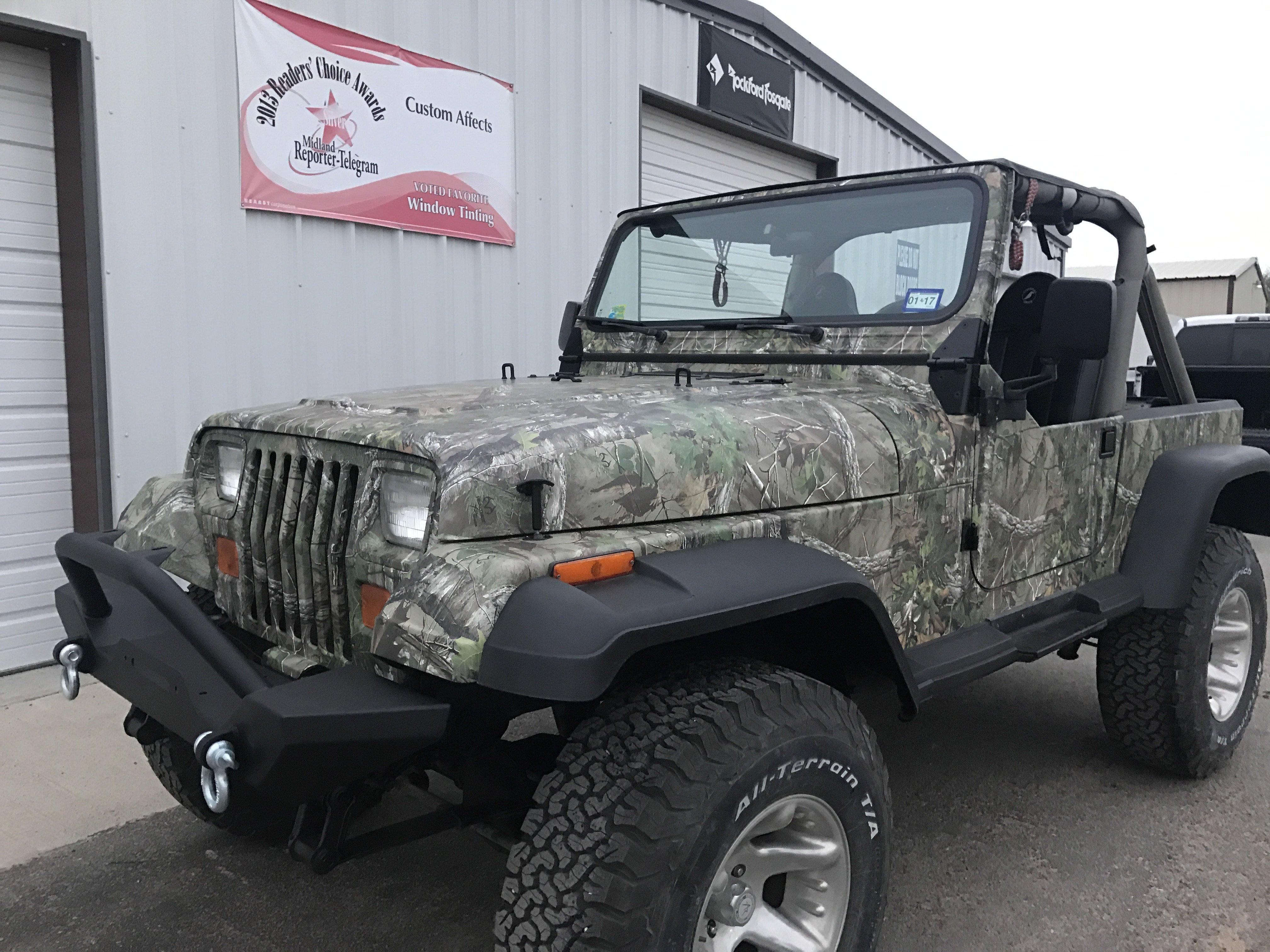 vinyl vehicle wraps Midland, TX