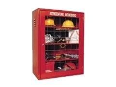 Armadio attrezzature antincendio