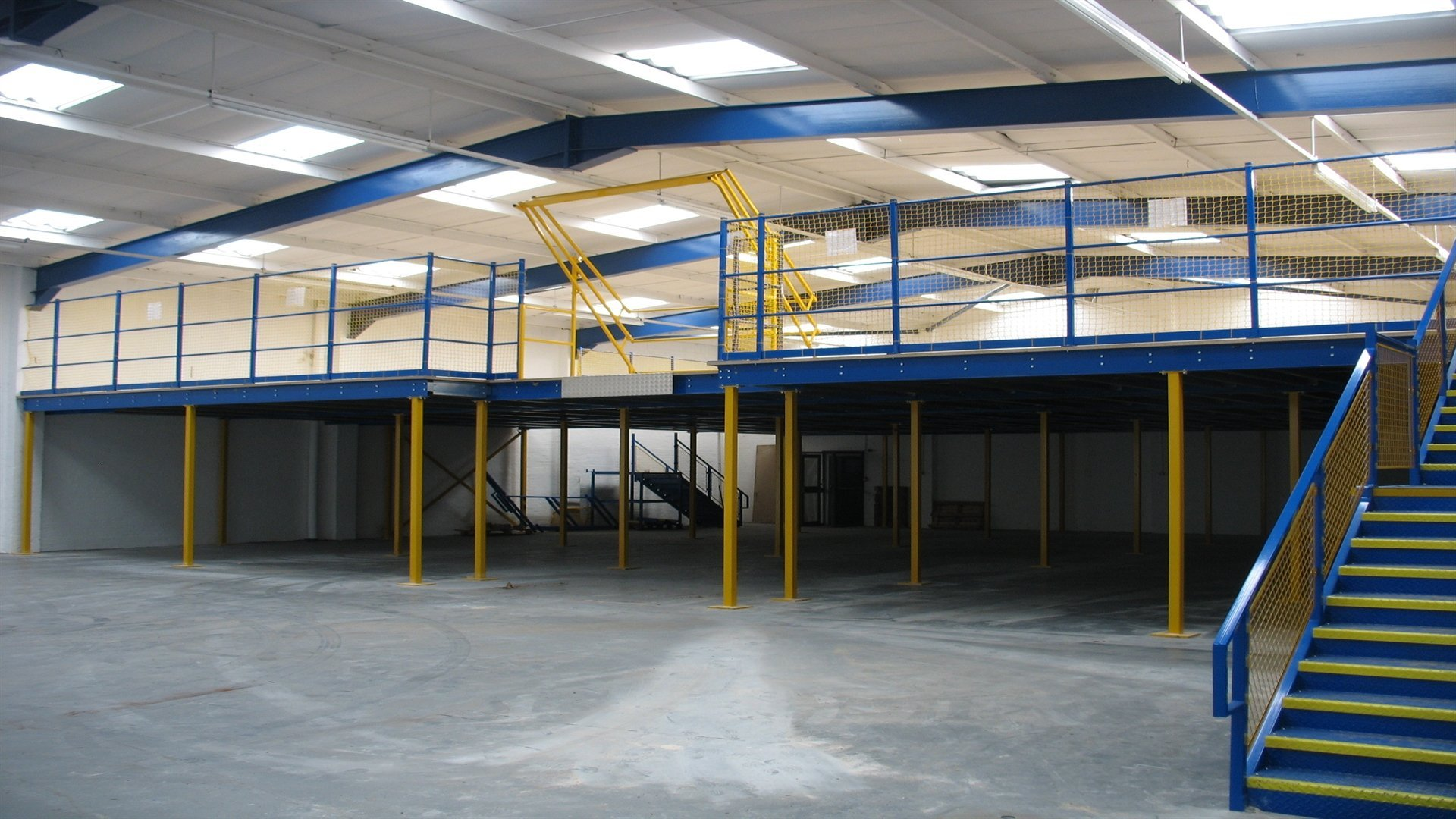 Captivating Mezzanine Flooring