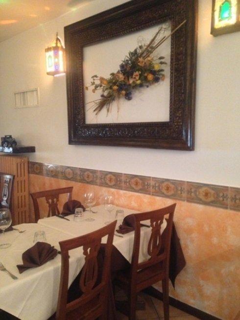 Potrete apprezzare la ghiotta cucina del ristorante presso i suoi accoglienti ambienti interni.